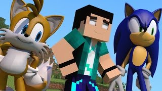 Mod Minecraft - Sonic The Hedgehog (Todos Personagens) Mod Showcase Sonic!
