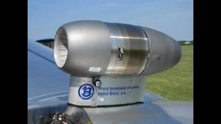getlinkyoutube.com-Blaník L-13 TJ s proudovým motorem - Jet Glider
