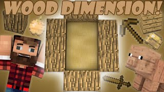 getlinkyoutube.com-If a Wood Dimension was Added - Minecraft