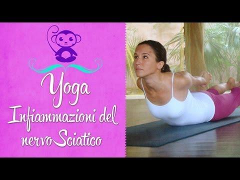 Yoga per l'infiammazione del nervo sciatico