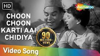 Choon Choon Karti Aai Chidiya   Ab Dilli Door Nahin   Bollywood Kids Songs   Nursery Rhymes