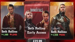 getlinkyoutube.com-WWE Immortals (iOS/Android) OPENING SETH ROLLINS EARLY ACCESS PACK