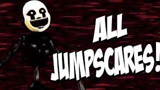 Five Nights at Freddys 4 Halloween Edition: ALL JUMPSCARES! NEW JUMPSCARES!