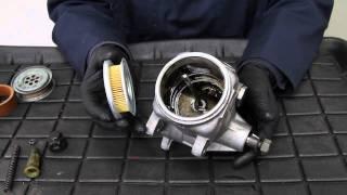 getlinkyoutube.com-Mercedes Power Steering Pump Service and Leak Repair by Kent Bergsma