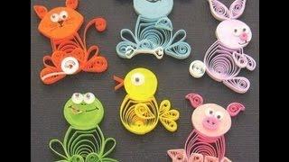 """getlinkyoutube.com-Творчество с детьми - поделки в стиле """"квиллинг"""""""