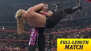 getlinkyoutube.com-FULL-LENGTH MATCH - Raw - Bret Hart vs. Triple H