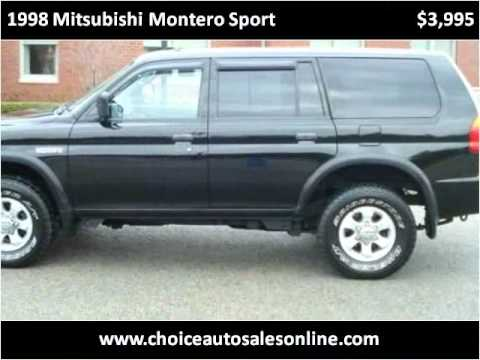 1998 mitsubishi montero sport problems online manuals and. Black Bedroom Furniture Sets. Home Design Ideas