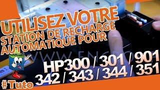 Nouvelle Station De Recharge Automatique HP 300/301/901/342/343/344/351