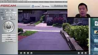 getlinkyoutube.com-Foscam FI9828 Demo & Review