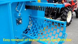 Kidd Farm Machiney 450TC Bale Shredder