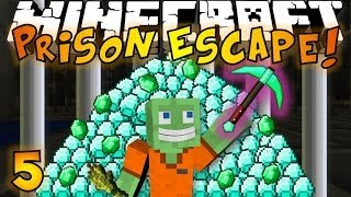 getlinkyoutube.com-Minecraft: Prison Escape #5 - BEST ITEM EVER!