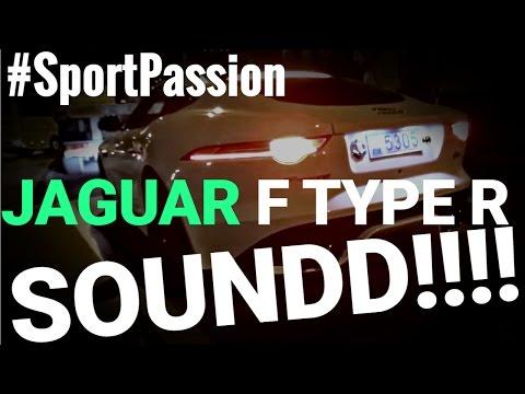 Jaguar F Type R SOUND ENGINE ЗВУК МОТОРА