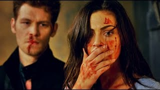 getlinkyoutube.com-The Originals 3x2 - Klaus & Hayley VIOLENT FIGHT!!! Hope is watching.