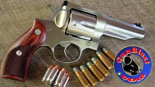 getlinkyoutube.com-Shooting the Ruger Redhawk 45 ACP/45 Colt Double-Action Revolver - Gunblast.com