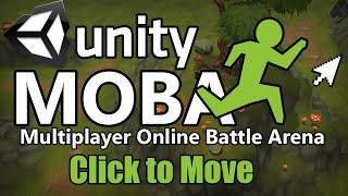 getlinkyoutube.com-How to make a MOBA in Unity - Click to Move