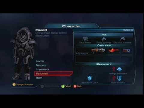 Mass Effect 3 Reckoning DLC - Krogan Warlord Build!