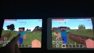 สอนเปิดเซิฟ Minecraft PE หรือ เล่นด้วยกัน บน Minecraft PE