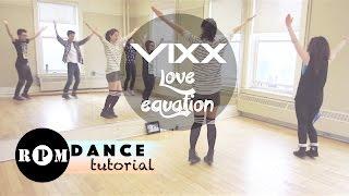 """getlinkyoutube.com-VIXX """"Love Equation"""" Dance Tutorial (Chorus)"""