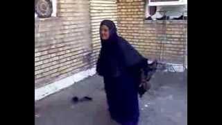 getlinkyoutube.com-الحاجه فرحانه وترقص بشفاء الحاج رجب اخو عزيز