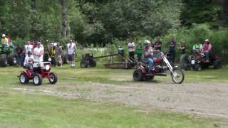 Lawnmower Races---Maple Valley Redneck Racers
