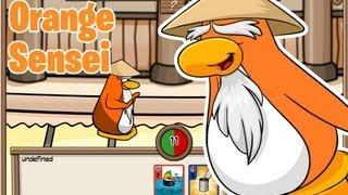 getlinkyoutube.com-Club Penguin- Orange Sensei Glitch
