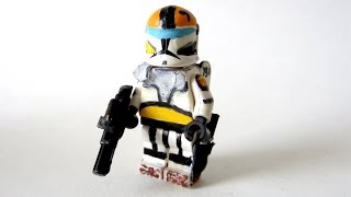 getlinkyoutube.com-Custom LEGO: Star Wars Clone  Commando - Fan Review