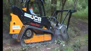 JCB 300t Skidsteer with FAE Mulching Head