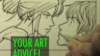 getlinkyoutube.com-Art Advice From You! Tips About Drawing & the Creative Life [Topic Vid #4]