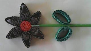 getlinkyoutube.com-DIY-membuat bunga sederhana dari kertas kardus-how to make a simple flower of cardboard