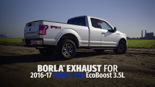 Borla Exhaust for 2016-2017 Ford F-150 3.5L EcoBoost
