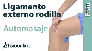 getlinkyoutube.com-Esguince del ligamento lateral externo de la rodilla - Masaje para su tratamiento