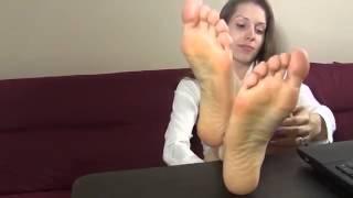 getlinkyoutube.com-Sexy Secretary Soles