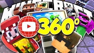 getlinkyoutube.com-360 Minecraft VR! | Minecraft Build Battle