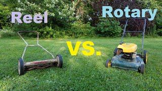getlinkyoutube.com-Reel Mower vs. Rotary Mower ~ Which Is Better?