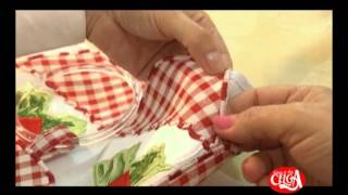 getlinkyoutube.com-Aprenda a fazer um pano de prato bordado à maquina.