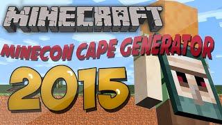 getlinkyoutube.com-*NEW* Free 2015 Minecon Cape!
