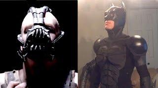 getlinkyoutube.com-Bane Mask and Batman Costumes