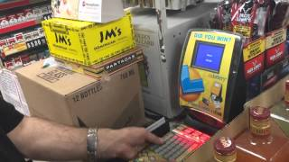 Buying $2700 worth of lottery scratchers
