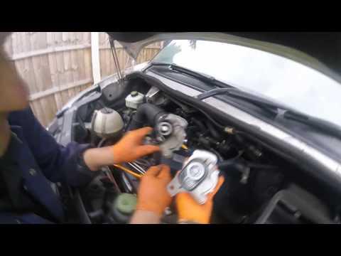 Как поменять вакуумную помпу Volkswagen Crafter/How to change the Volkswagen