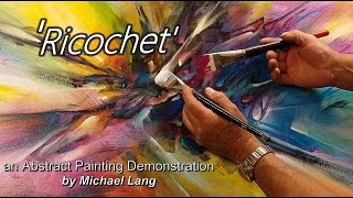 getlinkyoutube.com-Abstract Painting Techniques How to Demo Under painting, Washes, Layering