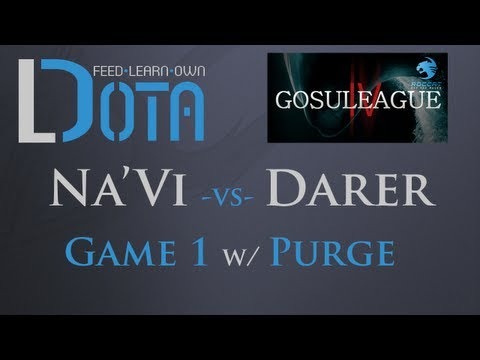 Na'Vi vs Darer - Game 1 (Gosuleague S4)