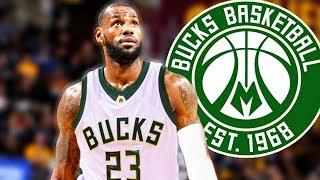 LeBron James Signing with Bucks and Joining Giannis Antetokounmpo?
