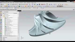 getlinkyoutube.com-Siemens NX: Impeller CAD Modelling