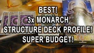 getlinkyoutube.com-*YUGIOH* BEST! BUDGET 3x MONARCH STRUCTURE DECK PROFILE!! + TEST HAND!