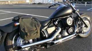 getlinkyoutube.com-DRAGSTAR 400 排気音(直管ドラッグパイプ)