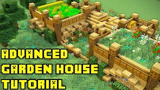 getlinkyoutube.com-Minecraft: Advanced Garden Mansion/House Tutorial Xbox/PC/PE/PS3/PS4
