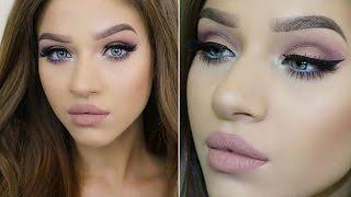 getlinkyoutube.com-Christmas/Holiday GLAM Makeup Tutorial | Feat. Mannequin Liquid Lipstick