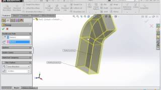 Advanced Sweep Concepts in SolidWorks