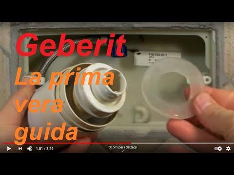 Come smontare la cassetta di scarico Geberit