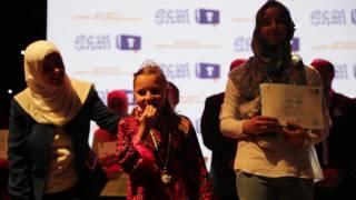 getlinkyoutube.com-لحظة إعلان نتيجة الفائزة بالمركز الأول لتحدي القراءة العربي/ فلسطين
